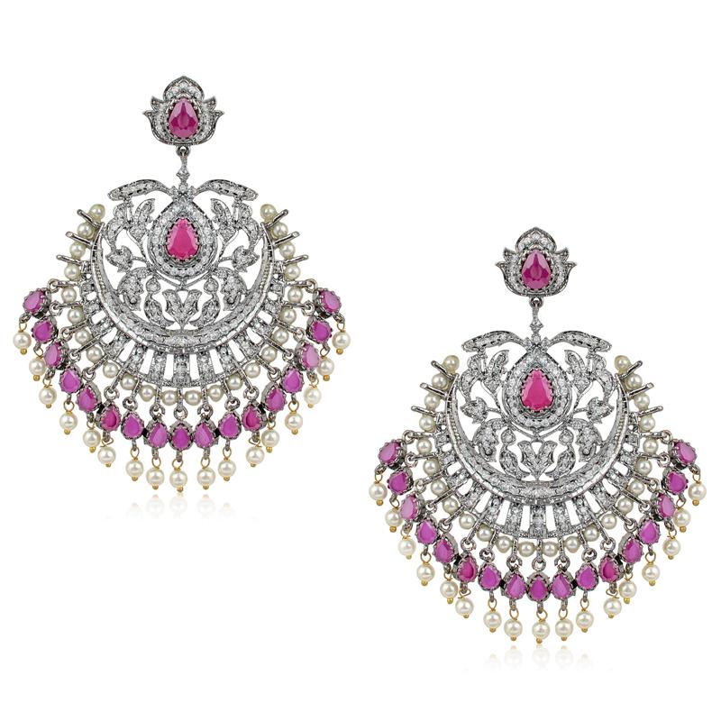 Oxidized Dressy Earrings